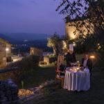 Cena romantica in terrazza, relax, tra terme piscine e solarium