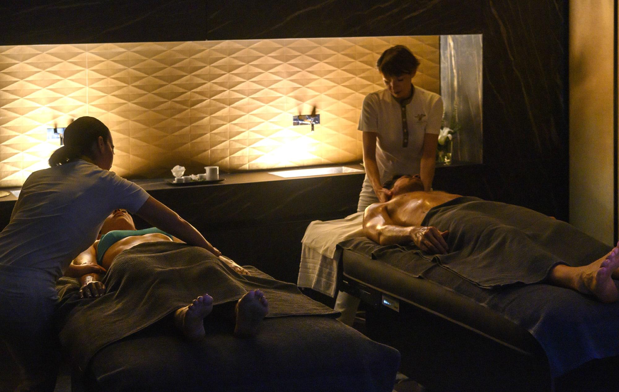 Private Spa Suite con massaggio relax total body di coppia